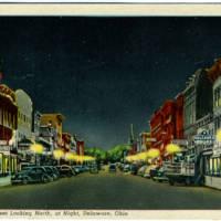 Sandusky Street, Looking North, Via Postcards
